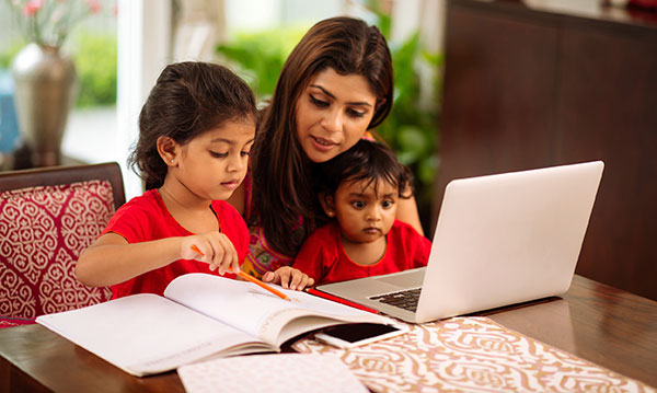 Thinking about homeschooling in India? It's not an easy task. (Image: Metro Parent)